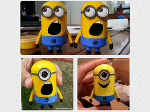 Minions with expressions