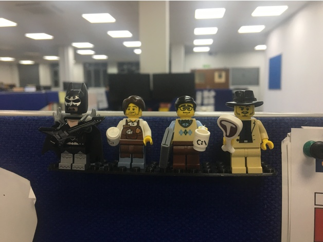Lego pushpin shelf by Deepfat - Thingiverse