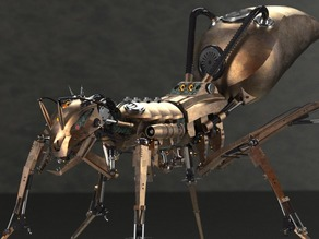 Ant Robot - Steampunk version