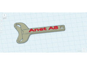 EZ-Snap Razor Blade Handle Anet A8 Version