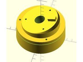 BURGcamBullet 304 adjustable rotatable camera mount