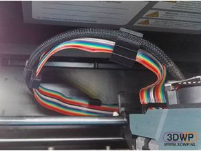 Up Box Ribbon Cable Clip