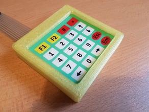 4x5 Keypad Case, Arduino.