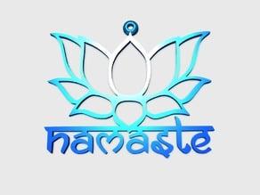 Lotus Flower Namaste