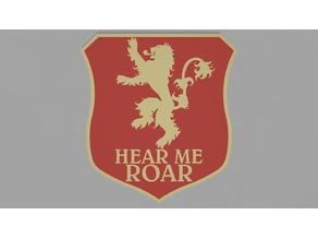 Lannister sigil - Game of thrones banner