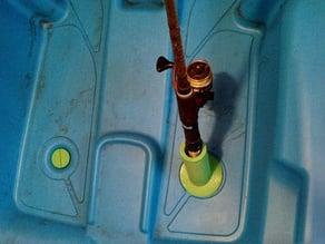 Customizable threaded scupper plugs