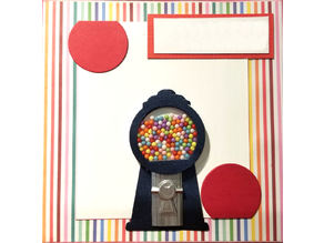 Gumball Coin Mechanism for Greeting Card
