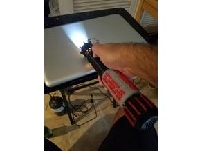 custom cutaway saber hilt by cworthdynamics