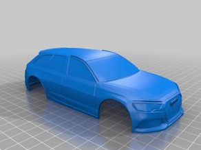 Xmods 17 Audi RS6 Avant 94mm Body Shell