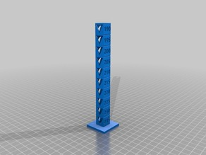 Travis' PLA 235-190 Temp Calibration Tower