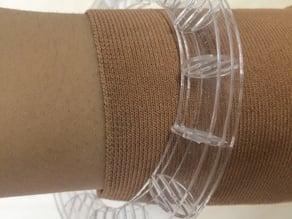 parametric waffle bracelet