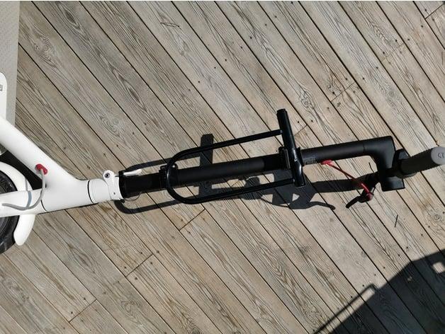 M365 U-Lock Holder flat by builder_bob - Thingiverse
