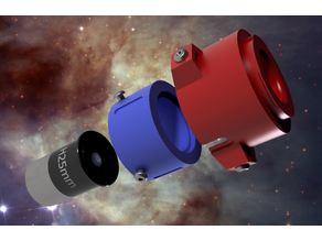 "Nikon F-Mount Variable Extension Adapter for H25mm Plössl eyepiece (1.25"")"