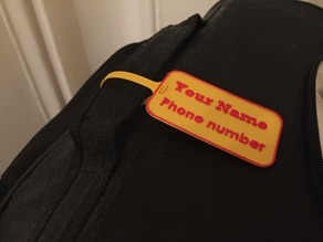 Luggage label