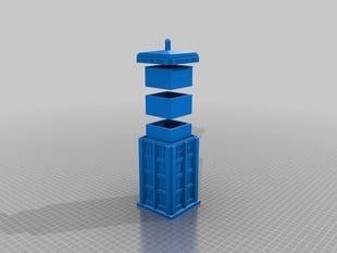 Tardis Stash box with box inserts.