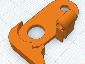 New Simple Metal Filament Guide for flexible filament