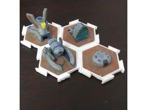 Dune 2k Hex board game build