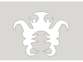 OctoPrint / OctoPi Logo | DXF | SKP