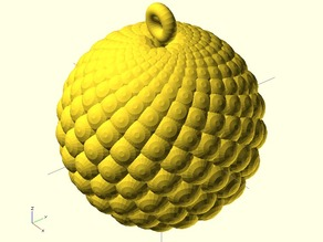 Fibonacci Ball (spheres)