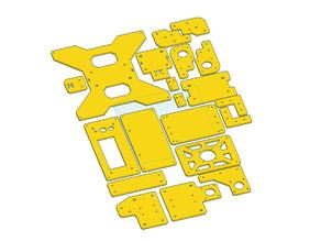 Tevo Tarantula stock acrylic parts / OEM brackets - all of them