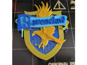 Harry Potter RavenClaw Crest - Removed Hole, Decimated