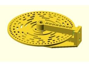 Parametric Rotary Encoder Gray and Natural Code