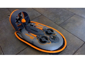 Kraken Mk2 RC brushless hovercraft
