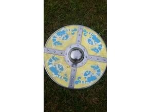 Viking shield pattern