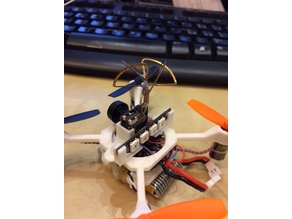 Mini Kwadcopter Drone Remake Eachine QX70 camera mount