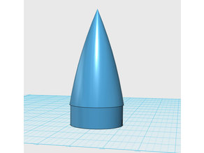 Rocket Nosecone for 50/52mm tube