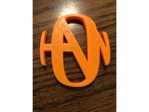 Hanson Logo Keychain