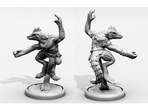 Lizardfolk Monk