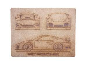 Porsche GT2 RS1 2017 (Laser Cut)