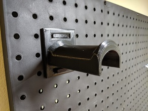 Improved Hook for Pegboard Spool Holder
