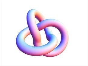 Prime Knot: 3_1 (trefoil knot)