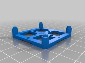 mount for the  91x45mm prototyping board