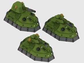 Valkyrie GEV SF tank 6mm - 3 variants