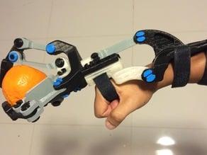 Black Ram Hand (Robotic/Prosthetic Hybrid) - Mark V