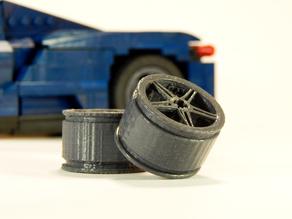 Lego custom wheel 1
