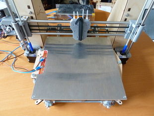 Extension for Prusa Y carriage to fit RepRapPro heatbed