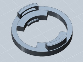 Beyblade attack ring template