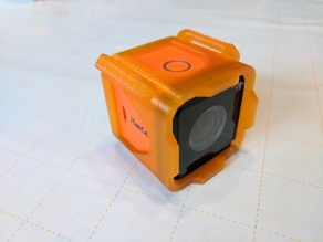 Runcam 3 HD Sleeve w/ Strap Slots (No Supports Needed)