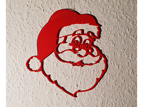 Santa Wall Decoration