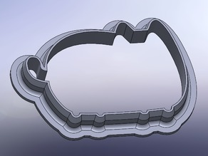 Pusheen cookie cutter