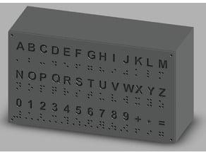 Braille Box