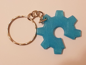 Open Source Hardware logo Keychain