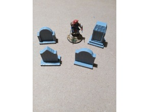 Assorted graves for wargames