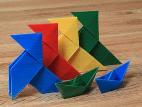 Paper Folding Models