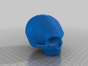 (3D Slash) VW_Polo_6n2_12mm_ID_gear_knob_bk_Scull