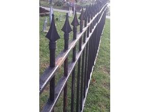 Finial Tetra (for PVC Halloween Fence)